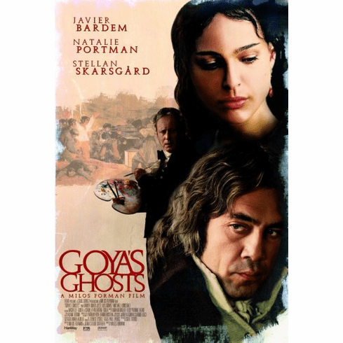 Goyas Ghosts Movie Poster 24inx36in