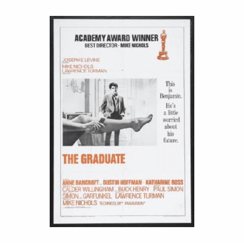 Graduate The Movie Poster 24inx36in