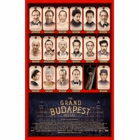Grand Budapest Hotel Movie Poster 24Inx36In Poster