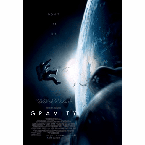 Gravity Movie Poster 24inx36in Poster