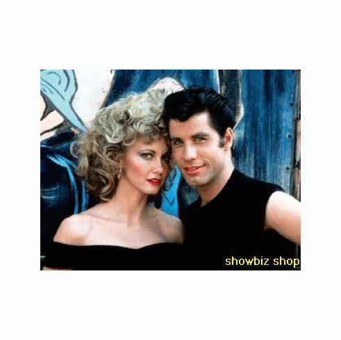 Grease Cast Movie Poster Sandy And Danny 24inx36in