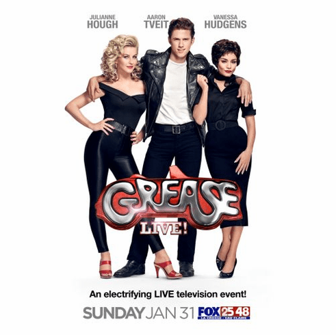 Grease Live 2016 Poster 24x36