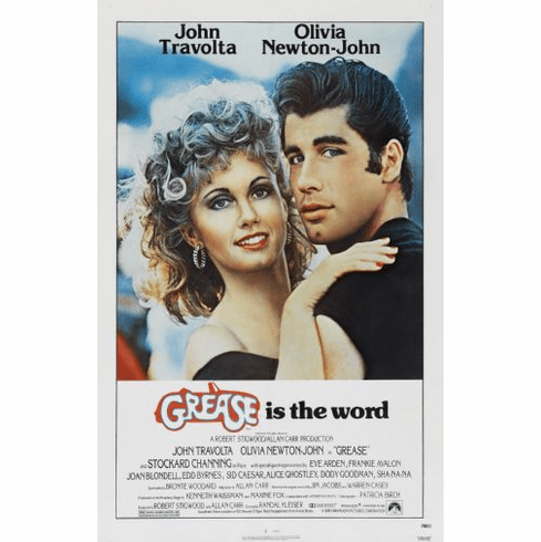 Grease Movie Poster 24x36