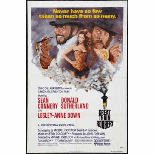 Great Train Robbery Movie Poster 24inx36in