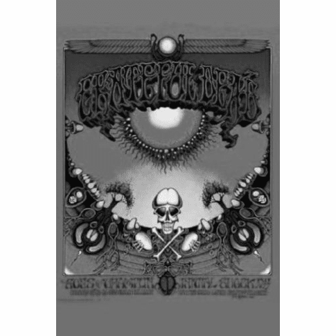 """Greatful Dead Black and White Poster 24""""x36"""""""