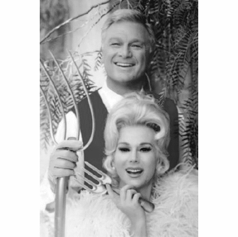 """Green Acres Black and White Poster 24""""x36"""""""