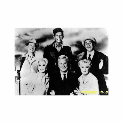 Green Acres Poster Bw Photo 24inx36in