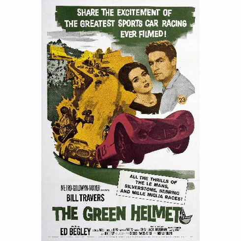 Green Helmet 11inx17in Mini Movie Poster