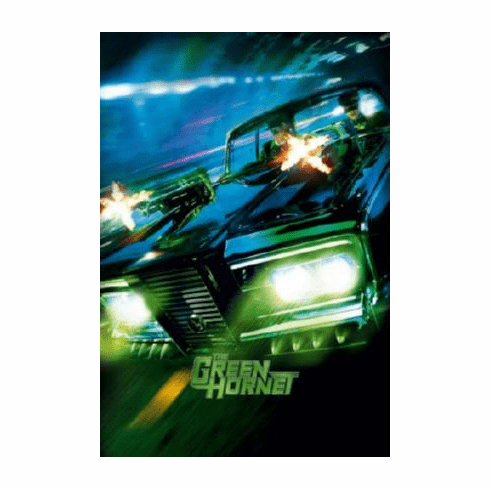 Green Hornet The Movie Poster #02 Black Beauty 24inx36in