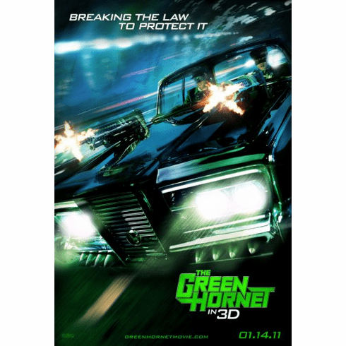 Green Hornet The Movie Poster 24inx36in