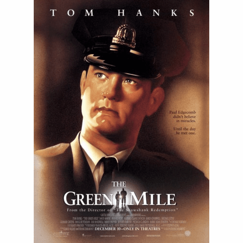 Green Mile Movie Poster 24inx36in