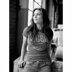 "Gretchen Wilson Black and White Poster 24""x36"""