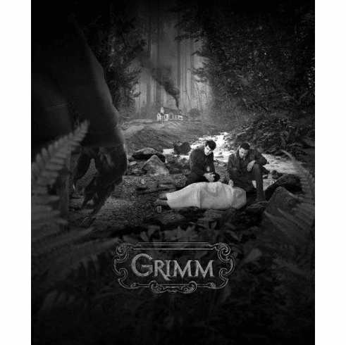 "Grimm Black and White Poster 24""x36"""