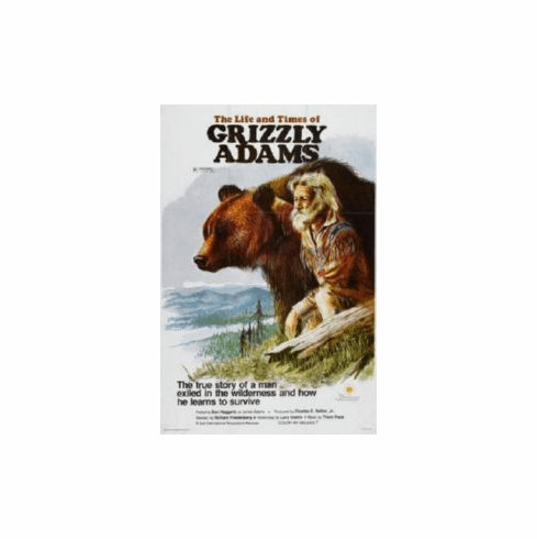 Grizzly Adams 8x10 photo Master Print