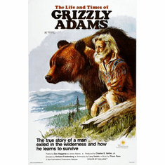 Grizzly Adams Poster 24inx36in