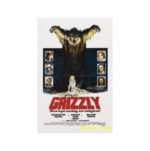 Grizzly Movie 8x10 photo Master Print
