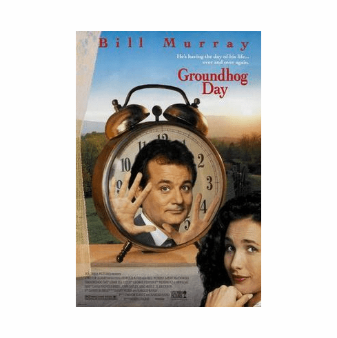 Groundhog Day Movie Poster 24in x36 in