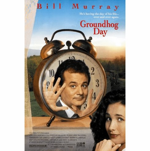 Groundhog Day Movie Poster 24inx36in