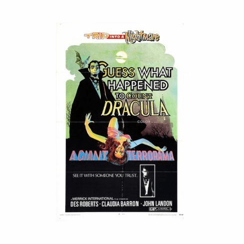 Guess What Happened To Count Dracula Mini Poster 11x17
