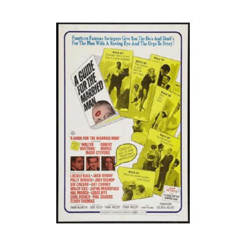 Guide For The Married Man A Poster 24inx36in