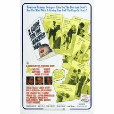 Guide For The Married Man Movie Poster 11x17 Mini Poster
