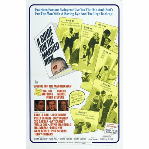 Guide For The Married Man Movie Poster 24inx36in