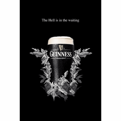 Guinness Poster 24inx36in