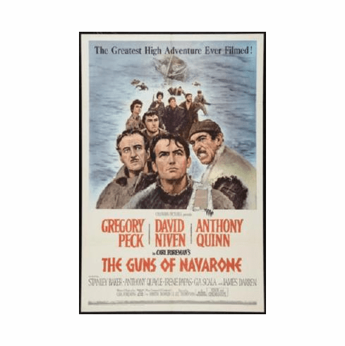 Guns Of Navarone Poster 24inx36in