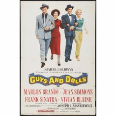 Guys And Dolls Poster 24inx36in