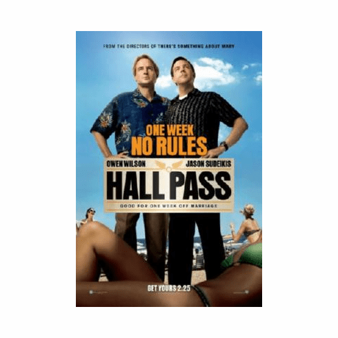 Hall Pass Poster 24inx36in