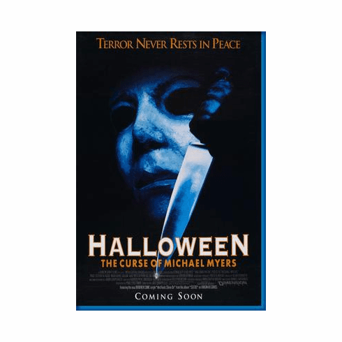 Halloween 6 Movie Poster 24inx36in