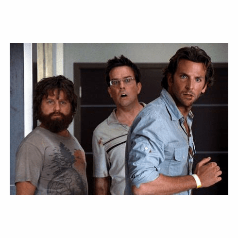 Hangover Cast Poster #01 11x17 Mini Poster