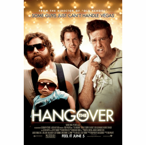 Hangover The Movie Poster 24inx36in