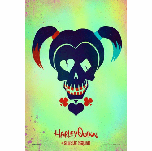 Harley Quinn Suicide Squad Character Icon Mini Poster 11x17