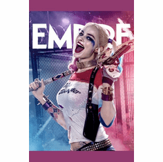 Harley Quinn Suicide Squad Poster Margot Robbie 11x17
