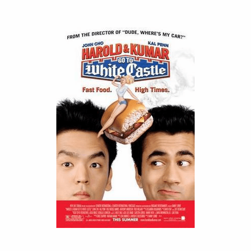 Harold And Kumar Go To White Castle Movie Poster 24in x36 in