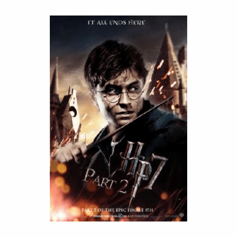 Harry Potter Deathly Hallows 2 Movie Poster #03 Daniel Radcliffe 24inx36in