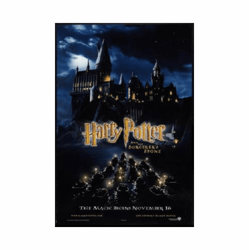 Harry Potter Sorcerers Stone Poster 24inx36in