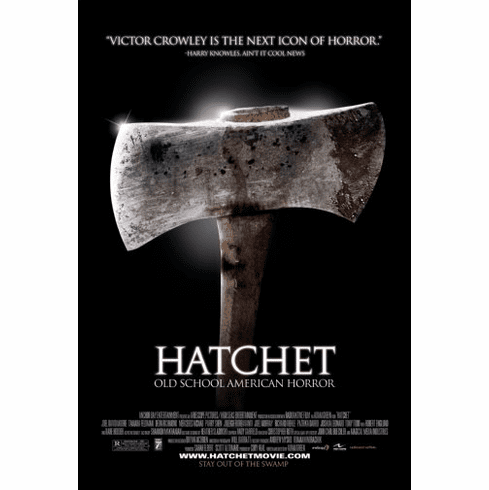 Hatchet Movie Poster 24inx36in