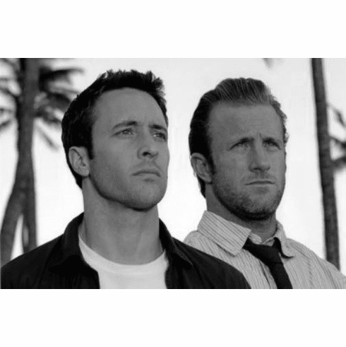 """Hawaii 5-0 Black and White Poster 24""""x36"""""""