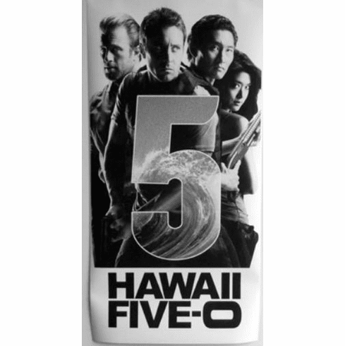 """Hawaii Five 0 Black and White Poster 24""""x36"""""""