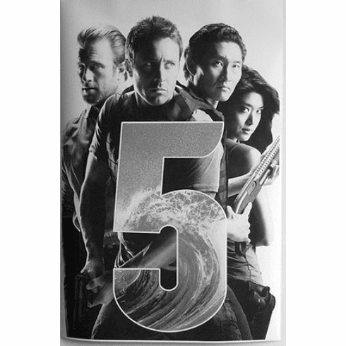 "Hawaii Five 0 Black and White Poster 24""x36"""