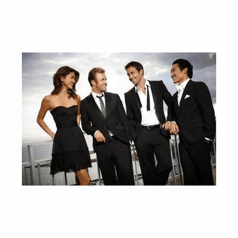 Hawaii Five 0 Poster Cast 24in x36 in