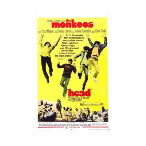 Head Poster #02 The Monkees 24inx36in