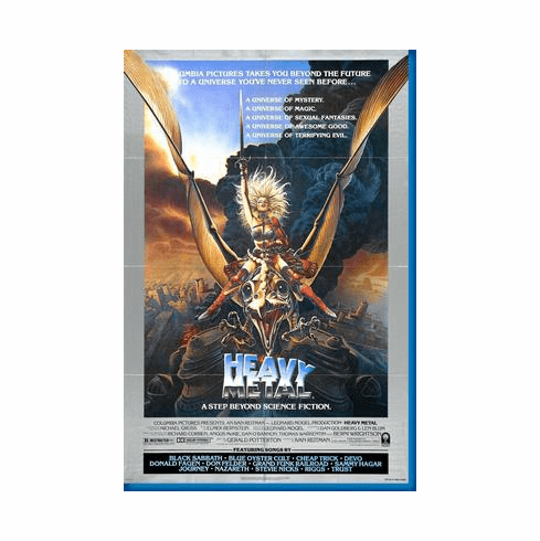 Heavy Metal Taarna Movie Poster 24inx36in