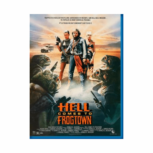 Hell Comes To Frogtown Roddy Piper Movie Poster 24inx36in
