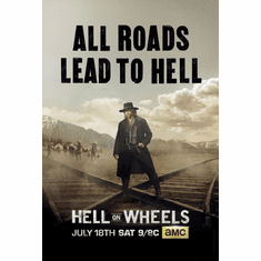 Hell On Wheels Poster 24in x36in
