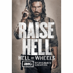 Hell On Wheels Poster 24inx36in