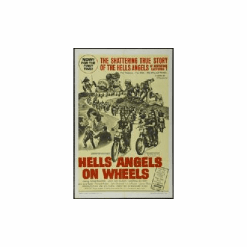 Hells Angels On Wheels Movie Poster 11x17 Mini Poster