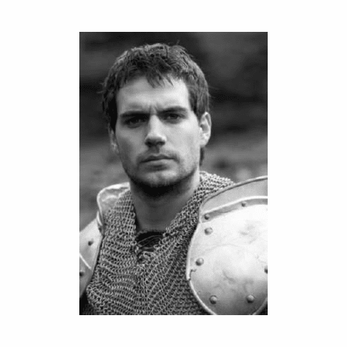 """Henry Cavill Black and White Poster 24""""x36"""""""